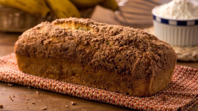 Kruh od banane s preljevom od kokosa