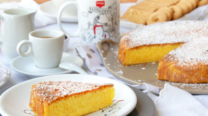 Margherita spužvasta torta