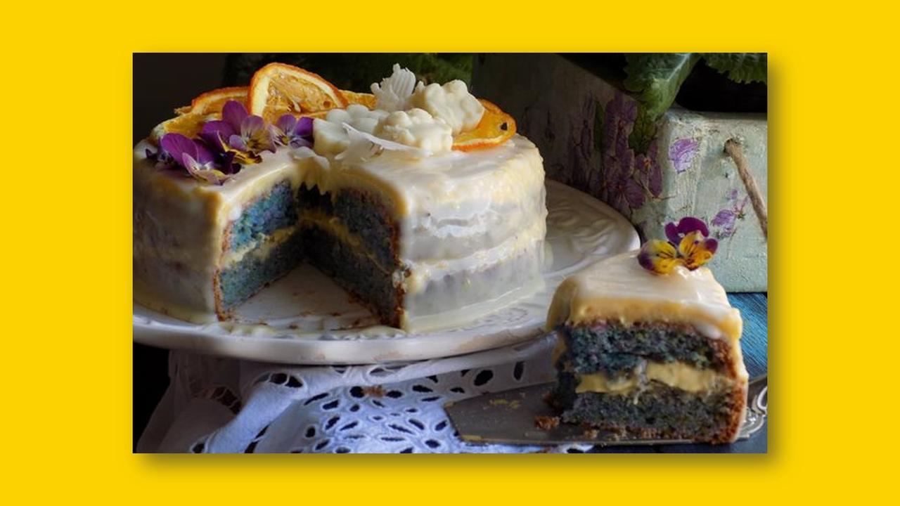Blue velvet tortica by Snježana Lukačić