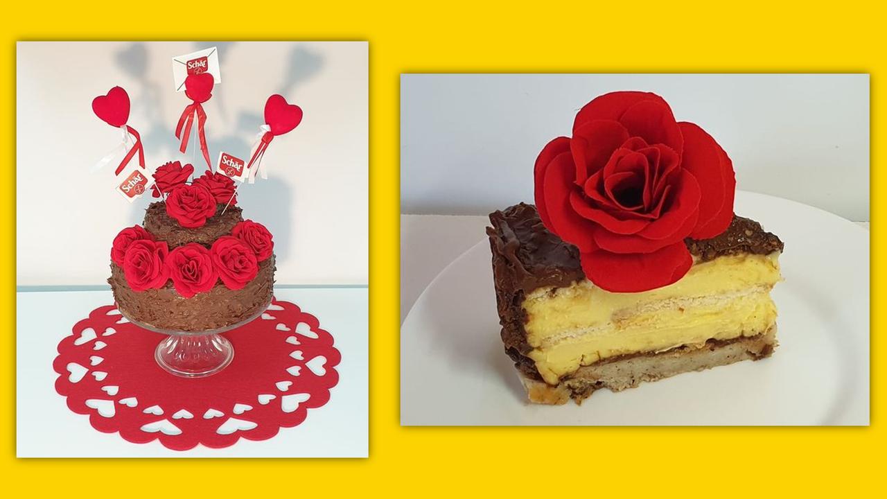 Schärmantna Valentinovo torta by Martina Marelić